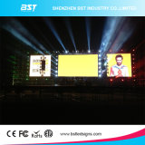 최고 Slim P10mm Indoor Full Color Transparent LED Mesh 또는 Curtain Display Screen