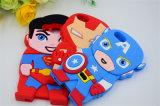 シリコーンの電話箱のスーパーマンの鉄の人の盾のチームリーダーJ1 J5 J7 J510 (XSY- 001)