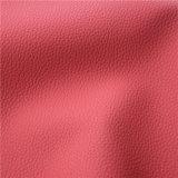 cuero para las sillas del sofá, muebles (666#) de la PU de 1.4m m Microfiber