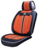 Arancio di cuoio di seta del ghiaccio viscoso del tessuto del coperchio di sede dell'automobile 3D