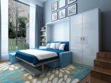 حديثة شاقوليّ يميّل جدار سرير مع أريكة وخزانة