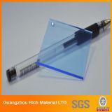 Folha plástica translúcida do acrílico do perspex da folha da cor PMMA