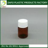 янтарная бутылка микстуры Plasitc любимчика цвета 30ml
