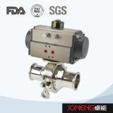 ステンレス鋼の空気の衛生非保持の球弁(JN-BLV2006)