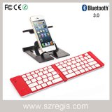 Clavier du PC se pliant flexible sans fil mince de Bluetooth pour l'iPad