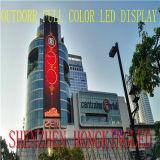Visualización de pantalla al aire libre a todo color de la tarjeta LED del LED