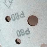 Disco de pulido del Velcro del óxido de aluminio de madera