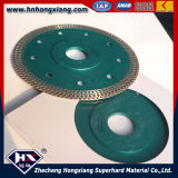 Diamant Cutting Wheel/Cyclone Mesh Turbo Diamond Saw Blade für Title, Ceramic