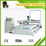 Jinan-Fabrik-Zubehör-ATC hölzerner CNC-Fräser (QL-M25) mit CER