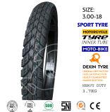 모터바이크 기관자전차 타이어 스쿠터 타이어 스포츠는 2.75-18를 피로하게 한다