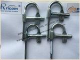 Blocages rapides galvanisés pour des accessoires/pièces de bâtis