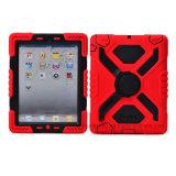 iPadのためのPepkooのくもの極度な軍の頑丈な例