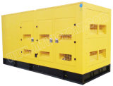 generador diesel silencioso estupendo 438kVA con el motor 2206c-E13tag3 de Perkins con la aprobación de Ce/CIQ/Soncap/ISO