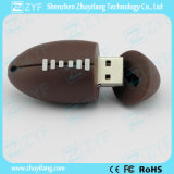 Lecteur flash USB fait sur commande de forme de rugby pour le cadeau (ZYF5045)