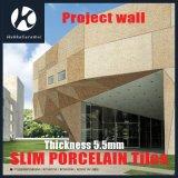 5.5mmの厚さの屋内屋外の壁のための極度の薄く細い磁器のタイルはプロジェクトをタイルを張る