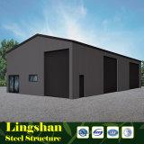 De Bouw van het Pakhuis van het Frame van het Staal van Prefabricatedstructural van de vervaardiging