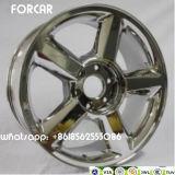 Liga de alumínio do carro para bordas da roda de Chevrolet Chevy para a vela