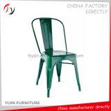 スタックする鉄の椅子(TP-30)を食事するホールのArmless現代結婚の緑を