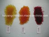 De kleur-Variabele die van het Merk van Haiyang het Blauwe Oranje Gel van het Kiezelzuur verkleurt Rubingel
