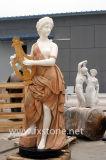 Marmorstatue-Marmor-Skulptur-Steinschnitzen (MSDF-007)