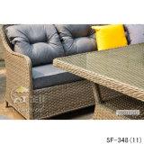 Rattan-Sofa, im Freienmöbel