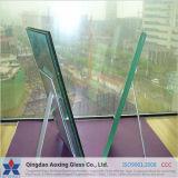 Folha de vidro laminado com filme de PVB transparente