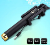 Mini Wired Mini Selfie Stick Monopod para iPhone Samsung Android
