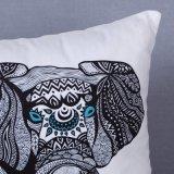 Het digitale Decoratieve Kussen/het Hoofdkussen van Af:drukken met het Patroon van de Olifant (mx-98)
