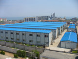 ISO Certificate Steel Structure Building para el sitio Camp