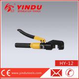 Cortador de barras de aço hidráulico de 6t 12mm (HY-12)