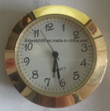 Mini reloj de la pieza inserta con números árabes