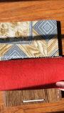 Настил затыловки войлока красного цвета Западная Африка горячий продавая/Non-Woven затыловка