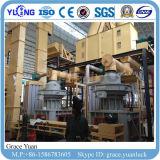 planta de produção de madeira da pelota da biomassa 2-3t/H