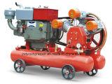 Dirigir el compresor de aire sin aceite conducido del pistón