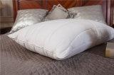 100%년 면 덮개와 여분 정밀한 섬유를 가진 연약하고 푹신한 베개