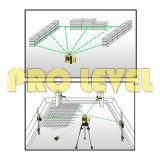 Nível giratório do laser da elevada precisão eletrônica verde do laser (SRE-102AG)