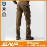Pantaloni lunghi lavati di svago casuale del carico per gli uomini