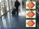 Strato di gomma di inserzione del panno, pavimentazione della palestra, stuoia della gomma dell'hotel