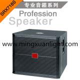 "SRX718S 18"" Sistema de neodimio Subwoofer Gabinete de altavoces de sonido"