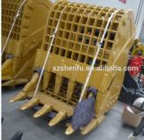 Cubeta de esqueleto da rocha da máquina escavadora/cubeta do abanador/cubeta da peneira