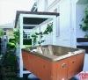 小型贅沢で純粋なアクリルのマッサージの浴槽