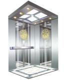 Elevador do passageiro com quarto pequeno da máquina (Q03)