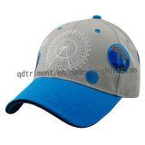 Bildschirmausdruck-Stickerei-Baumwoltwill-Sport-Baseballmütze (TMB0820)
