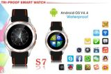 Relógio esperto impermeável Wearable Android GPS WiFi Smartwatch de 3G Bluetooth
