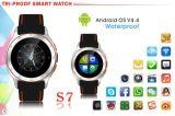 WiFi sec imperméable à l'eau portable androïde Smartwatch de la montre GPS de 3G Bluetooth