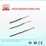 2 faisceaux cuivrent le fil électrique isolé par PVC du conducteur H03vvh2-F