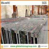 Partie supérieure du comptoir de marbre de stratifié de granit de quartz pour la cuisine/salle de bains/barre/entrée