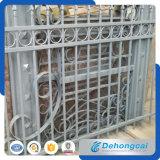 新しいデザイン装飾用の溶接された電流を通された粉の上塗を施してある錬鉄の塀