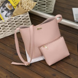 Chine Cheap Leather Leather 2PCS en sac à main 1 Set pour Young Lady Girl