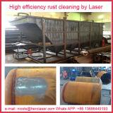 100W 200W 500W Laser Rust Removal System Nettoyant pour surfaces métalliques au laser